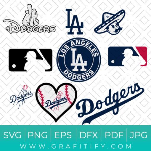 Los Angeles Dodgers Bundle SVG