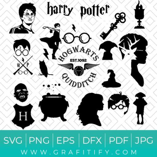 Harry Potter Pack SVG