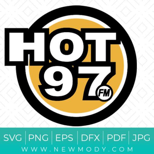 Hot 97 FM SVG