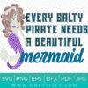 mermaid funny saying SVG