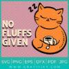 No Fluffs Given SVG