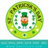 St Patrick's day SVG