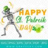 Happy st patrick's day SVG
