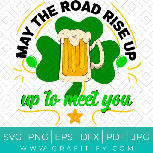 Happy St Patrick's Day funny saying SVG