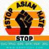 Stop Asian Hate SVG