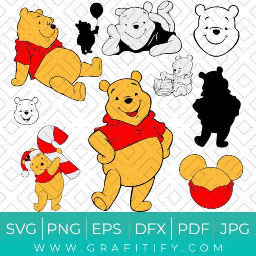 Disney Winnie The Pooh SVG