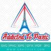 Addicted To Paris SVG