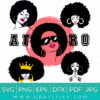 Afro Women SVG