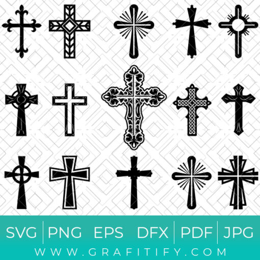 Christian Cross Collection SVG
