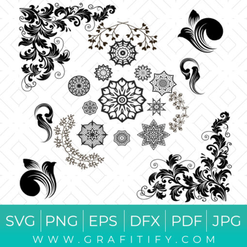 Floral Design SVG