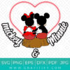 Mickey and Minnie Mouse - Real Lovers SVG