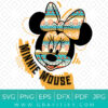 The Great Minnie Mouse SVG