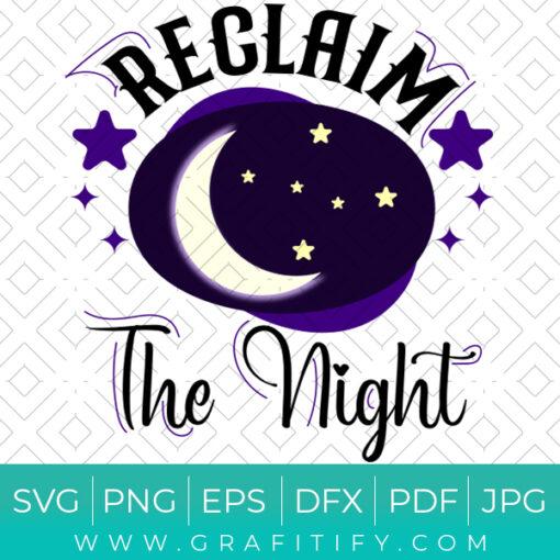 Reclaim The Night SVG