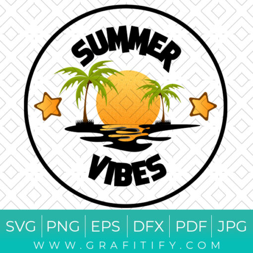 Summer Vibe ( Palm Trees)