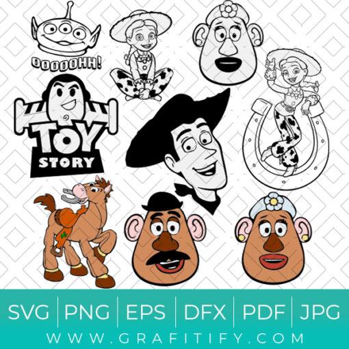 Toy Story SVG