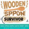 Wooden Spoon Survivor SVG