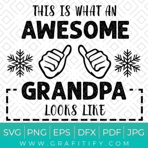 Funny Grandpa SVG
