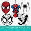 Spider Man Svg Bundle