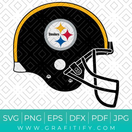 Pittsburgh Steelers Helmet Logo SVG