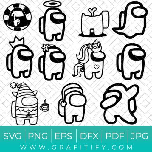 Among US Bundles SVG