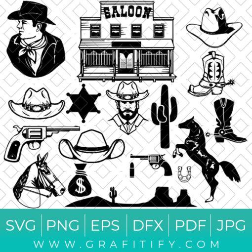 Cowboy SVG Bundle