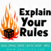 Explain Your Rules SVG