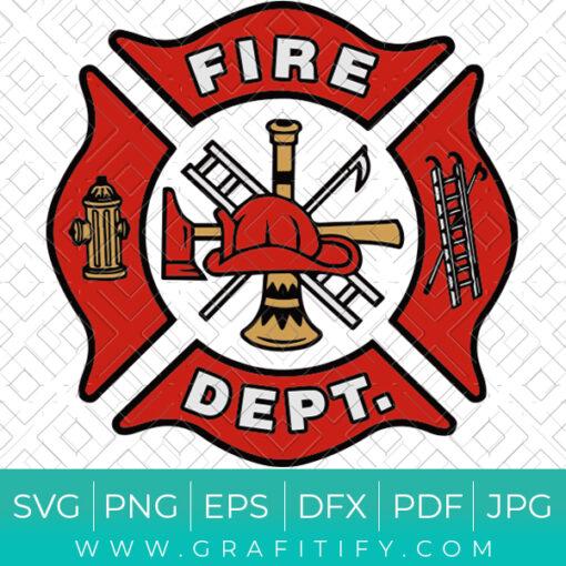 Fire Department Logo SVG