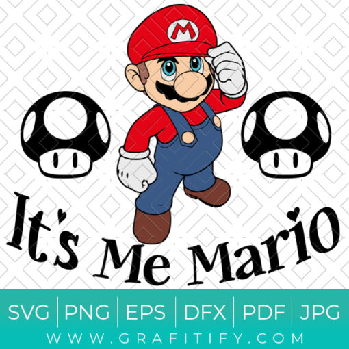 It's Me Mario SVG