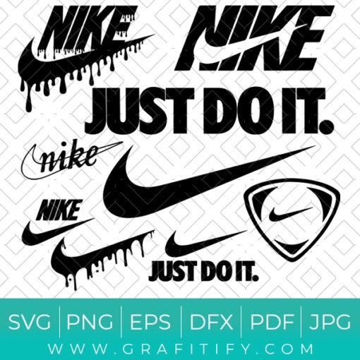 Nike Logo Brand SVG