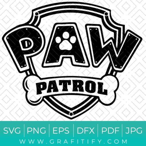 PAW PATROL LOGO SVG