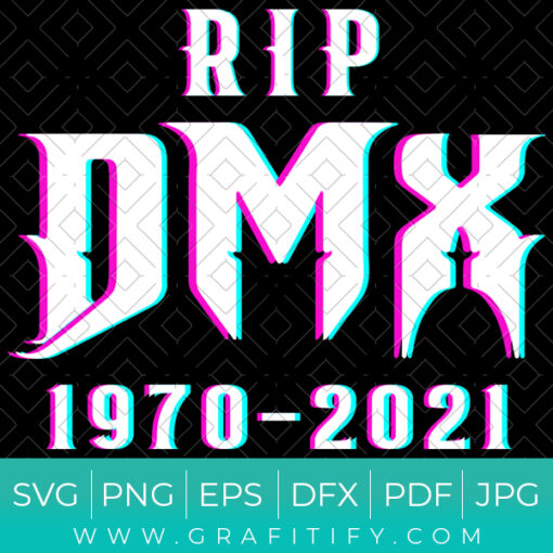 Rest In Peace DMX SVG