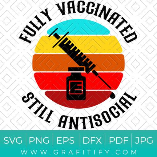 Fully Vaccinated Still Antisocial SVG