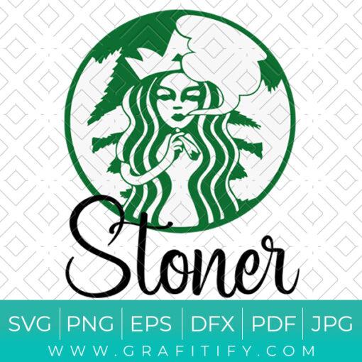 Starbucks Stoner SVG