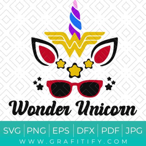Wonder Unicorn SVG