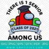 Senior Graduation Among Us Svg