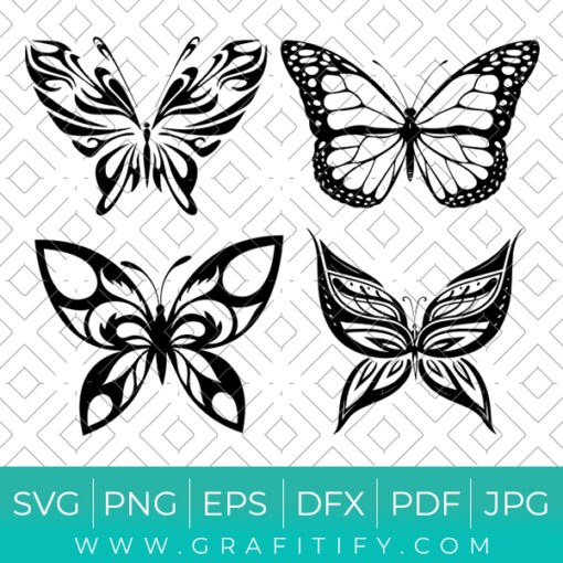 ButterFly Design Bundles Svg