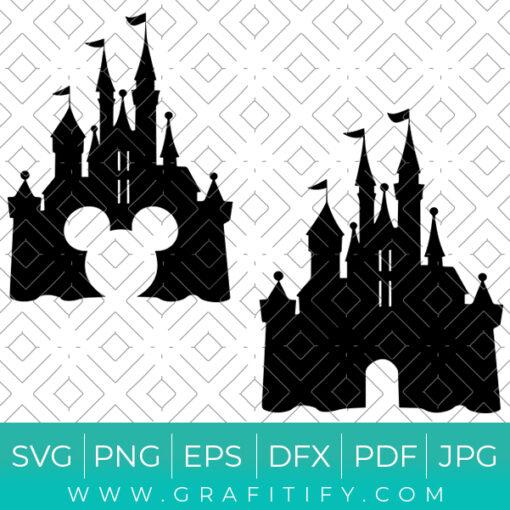Disney Castle SVG
