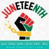 Juneteenth Svg