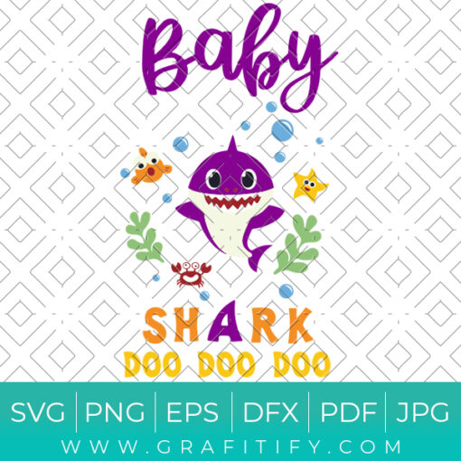 Baby Shark Doo Doo Doo Svg
