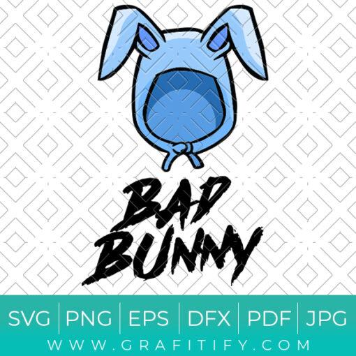 Bad Easter Bunny Svg