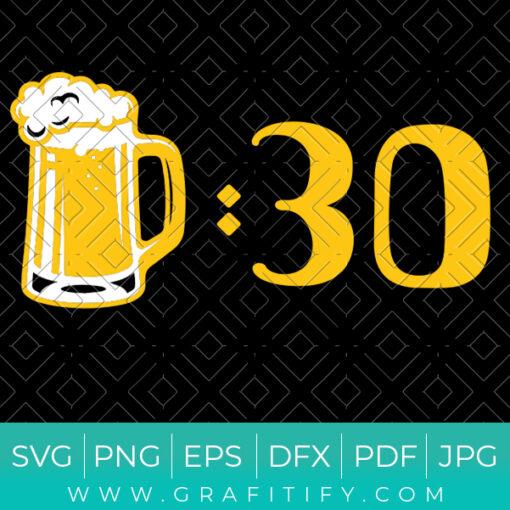Beer Thirty Meme Svg