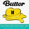 Bts Butter Svg