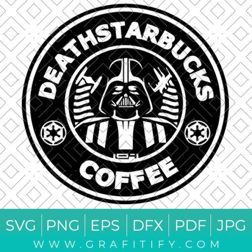 Deathstarbucks Coffee Svg