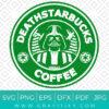 Funny Starbucks and Star Wars Svg