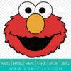 Funny Elmo Svg