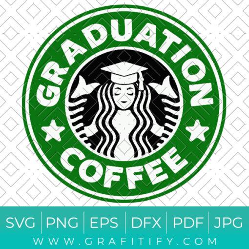 Graduation Coffee Starbucks Svg