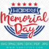 Happy Memorial Day Svg