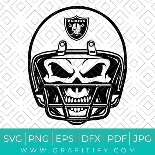 Las Vegas Raiders Helmet Svg