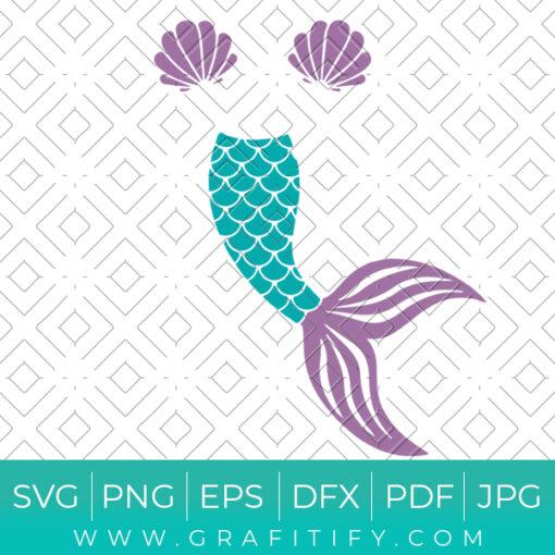 Mermaid Tail Svg
