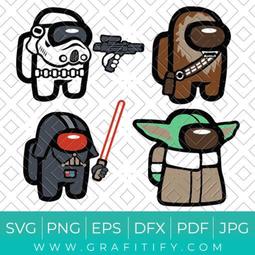 Star Wars Among Us SVG